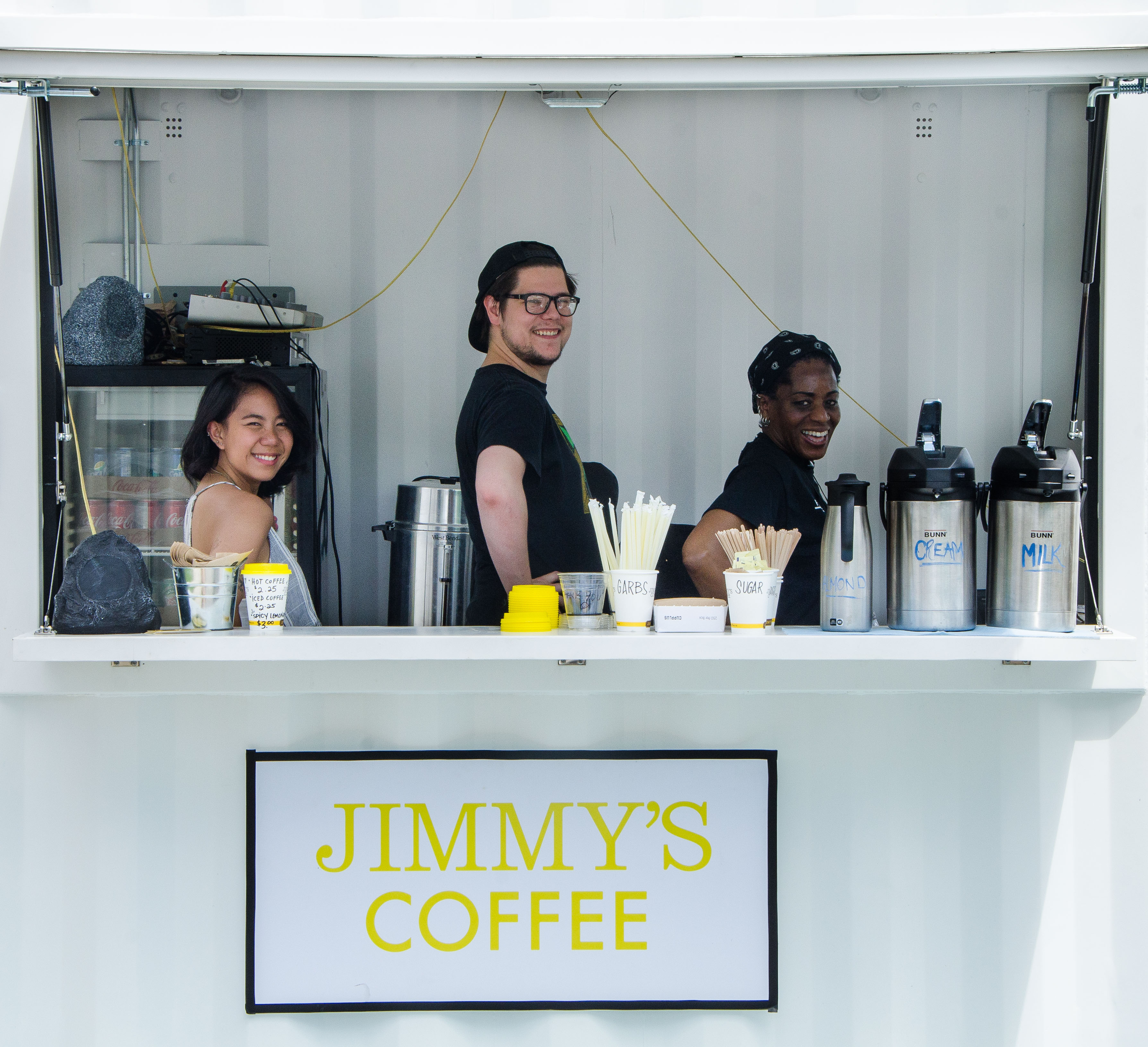 Jimmy's Coffee Staff at the Fringe Cafe