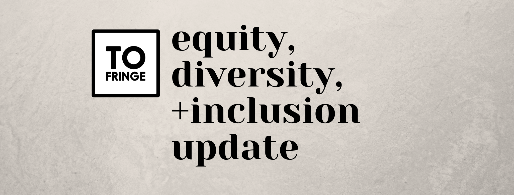 Equity, Diversity, and Inclusion Audit
