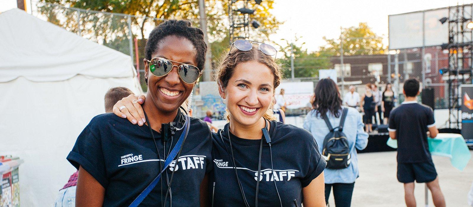 Smiling Fringe Staff